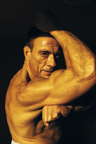 Jean Claude Van Damme for the New York Times